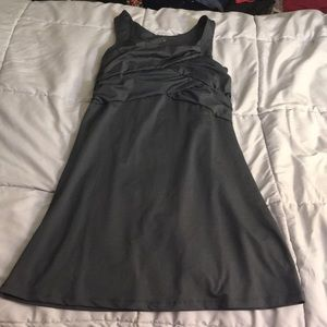 Grey dress by athleta - size small